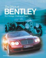 The DNA of Bentley [Hardcover]
