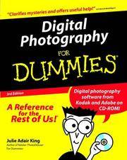Digital Photography for Dummies - 3rd Edition