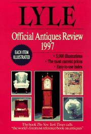 Lyle Official Antiques Review 1997, The by  Anthony Curtis - Paperback - 1st - 1996 - from The Old Library Bookshop and Biblio.com