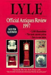 Lyle Official Antiques Review 1997, The