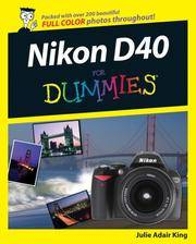 Nikon D40D40x For Dummies