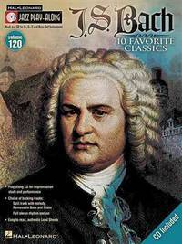image of J.s. Bach: Jazz Play-along Volume 120