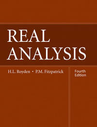 Real Analysis (4th Hardcover Edition)