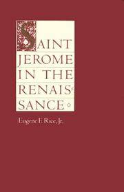 Saint Jerome in the Renaissance (The Johns Hopkins Symposia in Comparative History)