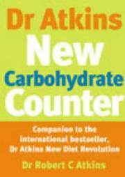 Dr Atkins' New Carbohydrate Counter