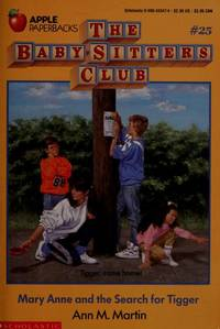 image of Mary Anne and the Search for Tigger (The Baby-sitters Club)