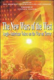 NEW WARS OF THE WEST Anglo American Voices on the War on Terror