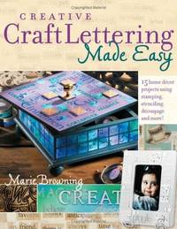 Creative Craft Lettering Made Easy