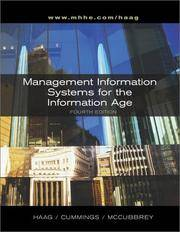 Management Information Systems for Information Age