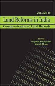 Land Reforms in India: Computerisation of Land Records (Land Reforms in India series) (Vol 10)