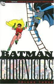 Batman Chronicles, Vol. 3