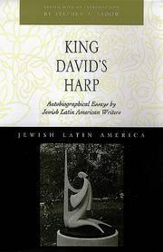 King David's Harp:   Autobiographical Essays by Jewish Latin American  Writers