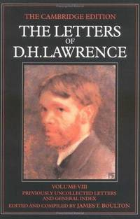 The Letters Of Dh Lawrence