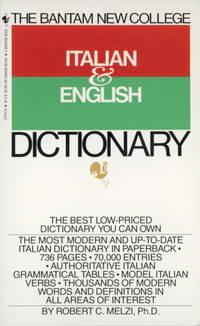 BANTAM NEW COLL.ITALIAN+ENGLISH DICT.