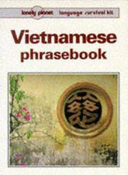 Lonely Planet Vietnamese Phrasebook (Lonely Planet Travel Survival Kit)