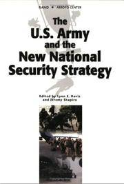 The U.S. Army and the New National Security Strategy: How Should the Army transform to meet the...