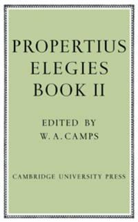 image of Propertius: Elegies: Book II