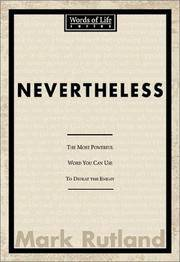Nevertheless: Discover personal strength in one word (Words of Life)