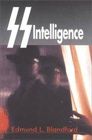SS Intelligence by Edmund L Blandford - Hardcover - 2000-08-27 - from The Book House in Dinkytown (SKU: 153654)