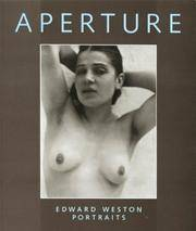 APERTURE NO. 140 EDWARD WESTON PORTRAITS