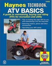 ATV Basics (Haynes Repair Manuals)