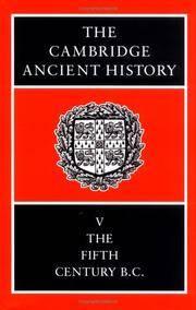 The Cambridge Ancient History Volume 5