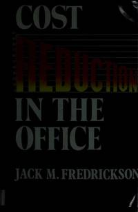 Cost Reduction in the Office