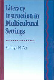 LITERACY INSTRUCTION IN MULTICULTURAL SETTINGS (HBJ Literacy Series)