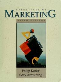 image of Principles of Marketing (The Prentice Hall series in marketing)