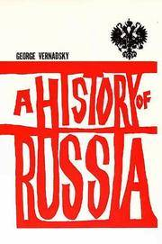 image of A History of Russia: New, Revised Edition