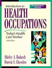 Introduction to Health Occupations: Today's Health Care Worker (5th Edition)