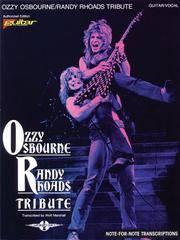 Ozzy Osbourne Randy Rhodes Tribute