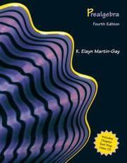 Prealgebra (4th Edition) (Martin-Gay Hardback Series)