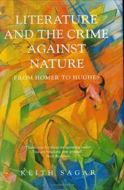 Literature and the Crime Against Nature : From Homer to Hughes