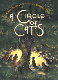 A Circle of Cats  **SIGNED & dated +photo**