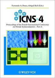 Icns-4 : Proceedings of the Fourth International Conference on Nitride Semiconductors