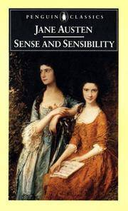 JANE AUSTEN SENSE AND SENSIBILITY