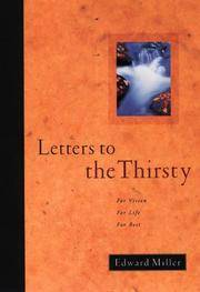 Letters to the Thirsty