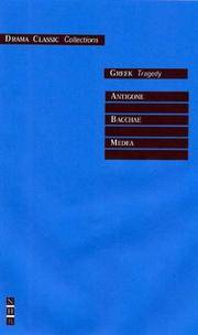 Greek Tragedy (Drama Classics)