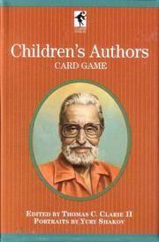 Children Authors Card Game