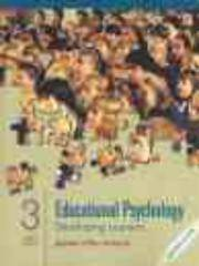 Educational Psychology: Developing Learners, Multimedia Edition, 3rd by  Jeanne Ellis Ormrod - Paperback - 3rd, Multimedia Edition - 2000 - from A2zbooks and Biblio.com