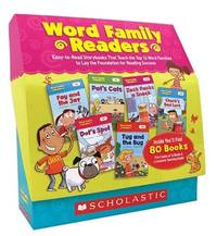 Word Family Readers Set: Easy-to-Read Storybooks That Teach the Top 16 Word Families to Lay the...