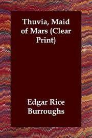 image of Thuvia, Maid of Mars (Clear Print)