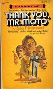 Thank You, Mr Moto