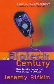 The Biotech Century - How Genetic Commerce Will Change the World