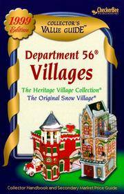 Department 56 Villages Collector's Value Guide 1999