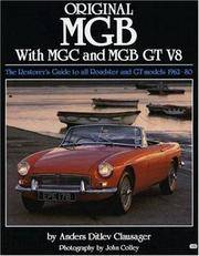 Original Mgb With Mgc and Mgb Gt V8 by Clausager, Anders Ditlev