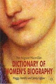 The Palgrave MacMillan Dictionary of Womens Biography: Fourth Edition