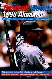 The U. S. A. Today Baseball Weekly, 1998 Almanac