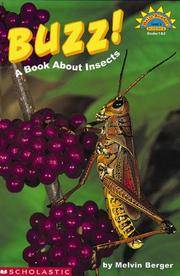 image of Buzz!: A Book About Insects (HELLO READER SCIENCE LEVEL 3)